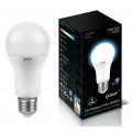 Лампа светодиодная Gauss LED A60 12W E27 4100K 1270Lm 220V LD102502212