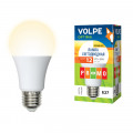 Лампа светодиодная Volpe Optima LED-A60-12W/WW/E27/FR/O 1000Lm 3000K 175-250V