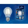 Лампа светодиодная Uniel Sky LED-A60-8W/WW/E27/FR PLS02WH 800Lm 3000K 200-250V