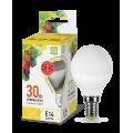 Лампа светодиодная LED-Шар-Standard 3.5Вт 160-260В Е14 3000К 320Лм ASD
