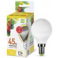 Лампа светодиодная LED-Шар-Standard 5Вт 160-260В Е14 3000К 450Лм ASD
