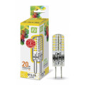 Лампа светодиодная LED-JCD-standard 2Вт 160-260В GY6,35 3000К 180Лм ASD