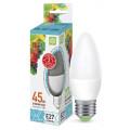 Лампа светодиодная LED-Свеча-Standard 5.0Вт 160-260В Е27 4000К 450Лм ASD