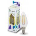 Лампа светодиодная LED-Свеча-Premium 7.0Вт 160-260В Е14 3000К 630Лм прозрачная ASD