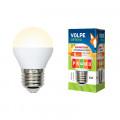 Лампа светодиодная шар Volpe Optima LED-G45-6W/WW/E27/FR/DIM/O 450Lm 3000K 220-240V Диммируемая