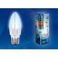 Лампа светодиодная свеча Uniel Palazzo LED-C37-6W/NW/E27/FR/DIM ALP01WH 560Lm 4500K 40-250V Диммируемая