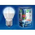 Лампа светодиодная шар Uniel Palazzo LED-G45-6W/NW/E27/FR/DIM ALP01WH 600Lm 4500K 40-250V Диммируемая
