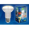 Лампа светодиодная Uniel Palazzo LED-R63-11W/WW/E27/FR/DIM ALP01WH 1020Lm 3000K 40-250V Диммируемая