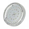 Лампа светодиодная Jazzway LED-Eco-GX53 6W 3000K 510Lm 230V Clear