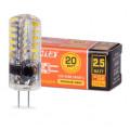 Лампа LED WOLTA JC G4 2,5Вт 230V 3000K 200Лм