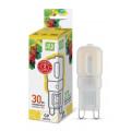Лампа светодиодная LED-JCD-standard 3Вт 160-260В G9 3000К 270Лм ASD