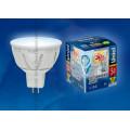 Лампа светодиодная софит Uniel Palazzo LED-MR16-5W/NW/GU5.3/FR ALP01WH 450Lm 4500K 12V