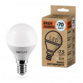 Лампа LED WOLTA GL45 E14 7,5Вт 4000K 675Лм
