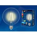 Лампа светодиодная шар Uniel Sky LED-G125-10W/WW/E27/CL PLS02WH 850Lm 3000K 200-250V