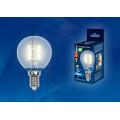 Лампа светодиодная шар Uniel Sky LED-G45-6W/WW/E14/FR PLS02WH 500Lm 3000K 200-250V
