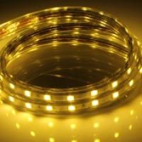 Герметичная светодиодная лента SWG SMD5050, LED300Y, 14,4W/m, 220V, IP68