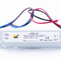 Герметичный блок питания для светодиодной ленты мощностью 35W