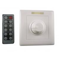 Диммер для управления яркостью Встраиваемый + инфракрасный пульт 12 кнопок