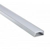 Прямоугольный встраиваемый профиль 3006x2 из анодированного алюминия для ленты