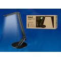 Светильник настольный светодиодный TLD-509 Black с диммером и 4 режимами (USB-порт)