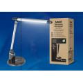 Светильник настольный светодиодный TLD-517 Silver-Black с диммером