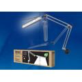 Светильник настольный светодиодный на струбцине TLD-525 Silver с диммером