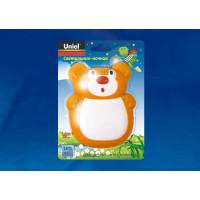Ночник светодиодный детский DTL-301-Мишка Green