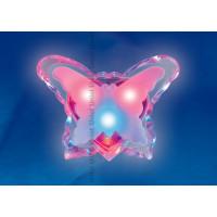 Ночник светодиодный детский DTL-302-Бабочка 3color