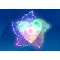 Ночник светодиодный детский DTL-302-Цветок 3color