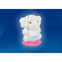 Ночник светодиодный аккумуляторный DTL-305-Слоненок/3color на розовой подставке