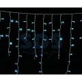 Гирлянда Айсикл (бахрома) светодиодная IP44, 1,8 х 0,5 м, белый провод, 220В (Для улицы и помещения, цвет в ассортименте)