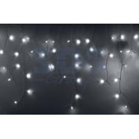 Гирлянда Айсикл (бахрома) светодиодная IP44 4,8x0,6м Белое свечение