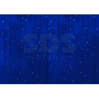 Гирлянда Светодиодный Дождь IP44 2x6м Синяя