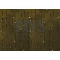 Гирлянда Светодиодный Дождь IP44 2x9м Желтая