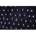 Гирлянда Сеть светодиодная IP44, 2х1,5м, Белое свечение, черный провод, 220В (Для улицы и помещения)