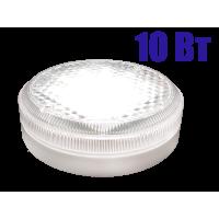 """Светодиодный накладной светильник с датчиком для ЖКХ ЛУЧ-220-СD """"таблетка"""" мощностью 10Вт"""