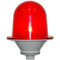 Заградительный огонь «ЗОМ-3», >10cd, тип «А», 30-265V AC/DC, IP54