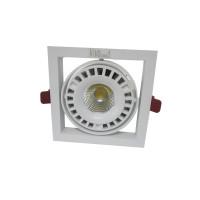 Встраиваемый карданный поворотный светодиодный светильник Glissando LED 1x44 clean 4700Lm 4000K