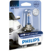 Лампа фары ближнего и дальнего света Philips CrystalVision H4 12342CVB1