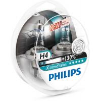 Лампы ближнего и дальнего света Philips X-tremeVision H4 12342XVS2