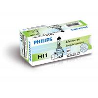 Лампы головного света h11 Philips LongLife EcoVision 12362LLECOC1