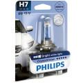 Автомобильная галогеновая лампа Philips CrystalVision H7 12V 55Вт 12972CVB1 для головного света