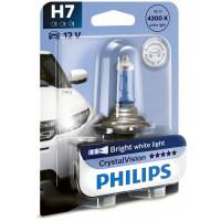 Автомобильные лампы h7 Philips CrystalVision 55Вт 12972CVB1