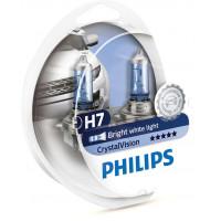 Лампы h7 Philips Crystal Vision 12972CVSM (набор 2+2)