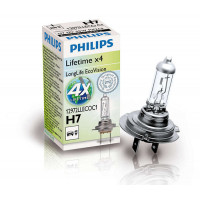 Галогеновая лампа головного света Philips LongLife EcoVision H7 12972LLECOC1