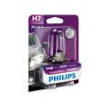 Галогенная лампа головного света Philips H7 VisionPlus 12V 55Вт 12972VPB1