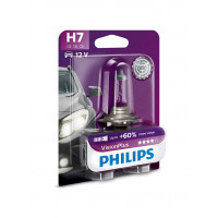 Автолампа h7 для фар автомобиля Philips VisionPlus 55Вт 12972VPB1