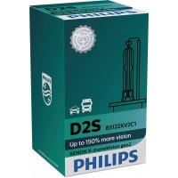 Лампа для головного света Xenon X-tremeVision D2S philips 85122XV2C1
