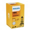 Автомобильная лампа Philips Vision (Premium) HB4 55Вт (+30%) 9006PRC1