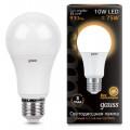 Лампа светодиодная Gauss LED A60 10W E27 2700K 930Lm 220V LD102502110